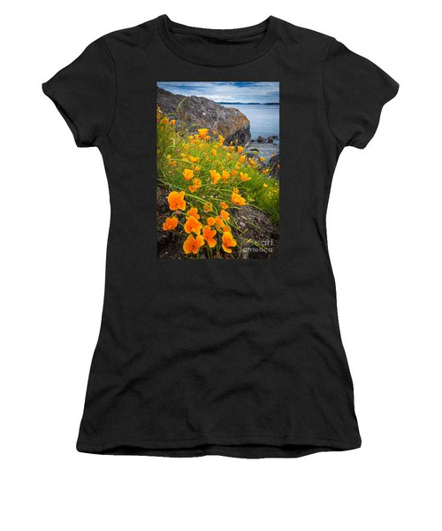 Cattle Point Poppies Women's T-Shirt