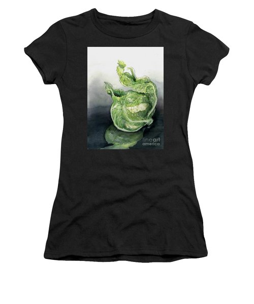 Cauliflower In Reflection Women's T-Shirt (Athletic Fit)