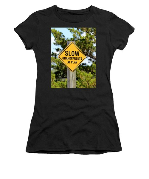 Caution Sign Women's T-Shirt