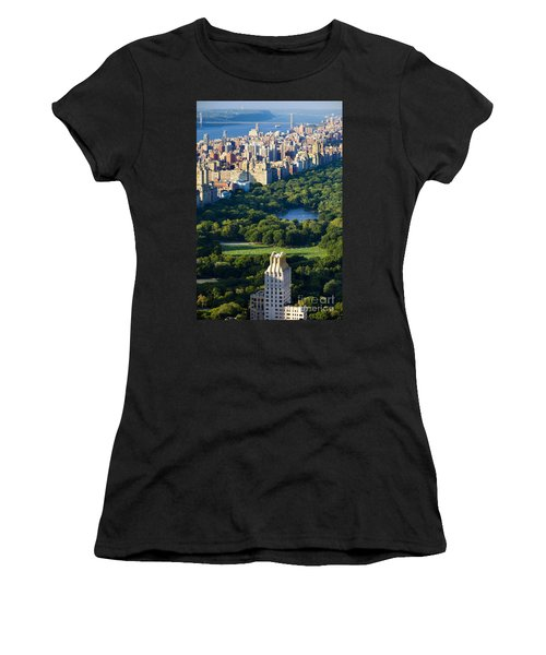 Central Park Women's T-Shirt (Athletic Fit)