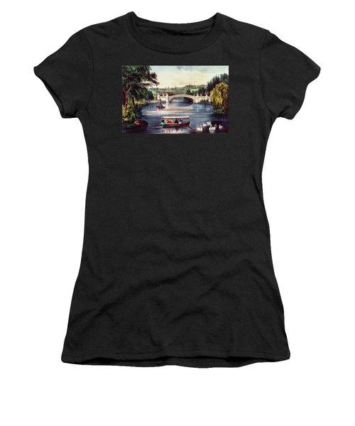Central Park   The Bridge  Women's T-Shirt