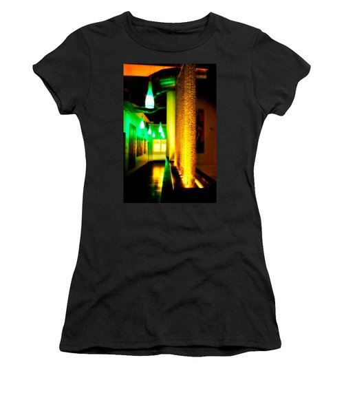 Chain Lighting Women's T-Shirt (Junior Cut) by Melinda Ledsome