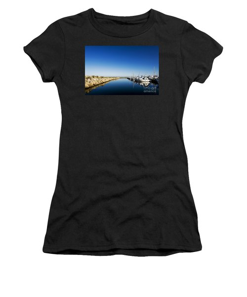Challenger Harbour Of Fremantle Women's T-Shirt