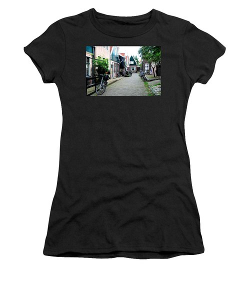Women's T-Shirt (Junior Cut) featuring the photograph Charming Dutch Village by Joe  Ng