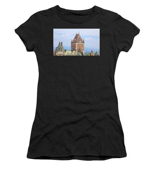 Chateau Frontenac Quebec City Canada Women's T-Shirt