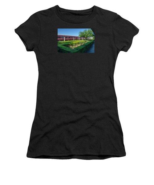 Women's T-Shirt (Junior Cut) featuring the photograph Chattanooga Choo Choo 2 by Susan  McMenamin