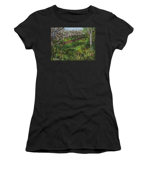 Cherry Orchard Evening Women's T-Shirt