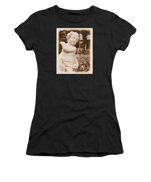 Cherub In The Garden Women's T-Shirt