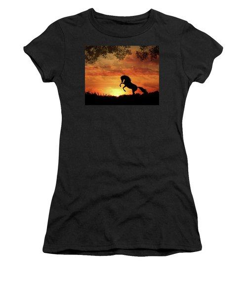 Chestnut Sunset Women's T-Shirt