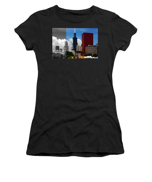 Chicago Skyline Sears Tower Women's T-Shirt