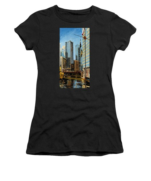 Chicago - The River From The East Women's T-Shirt