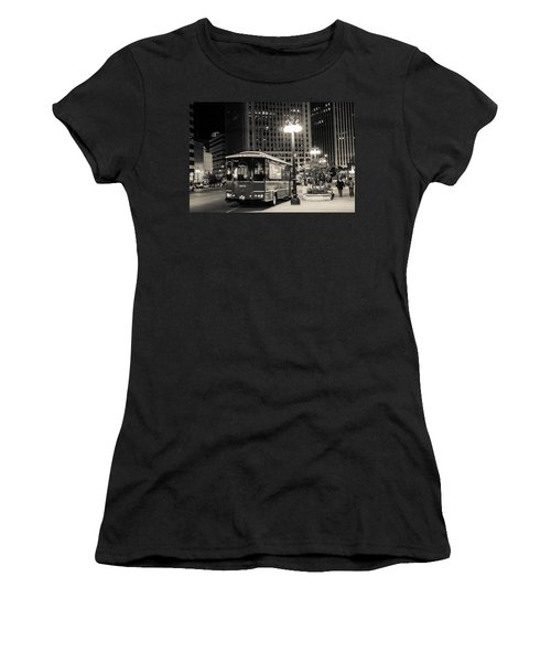 Chicago Trolly Stop Women's T-Shirt