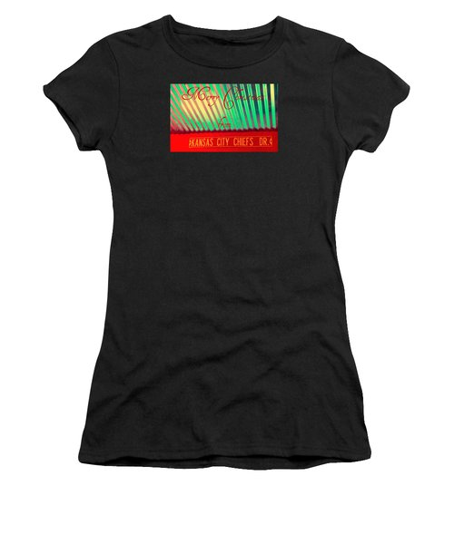 Chiefs Christmas Women's T-Shirt (Athletic Fit)