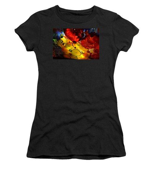 Chihuly-5 Women's T-Shirt (Junior Cut) by Dean Ferreira