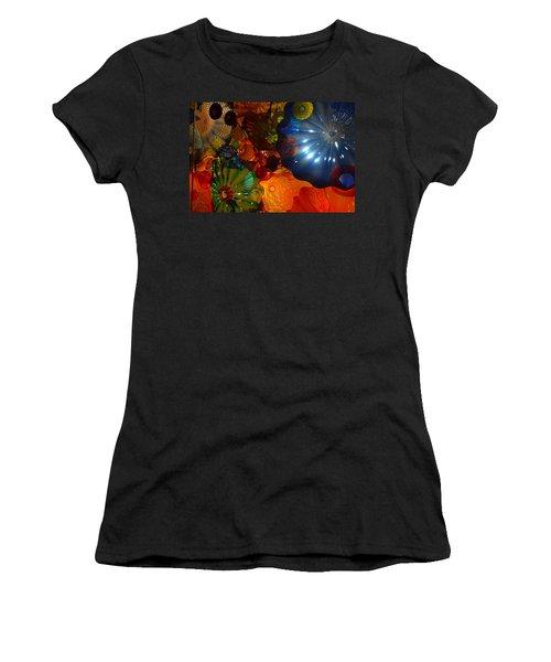 Chihuly-9 Women's T-Shirt (Junior Cut) by Dean Ferreira