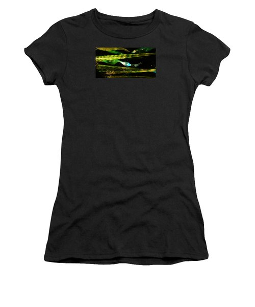 Chihuly Green In Denver Colorado Women's T-Shirt (Athletic Fit)