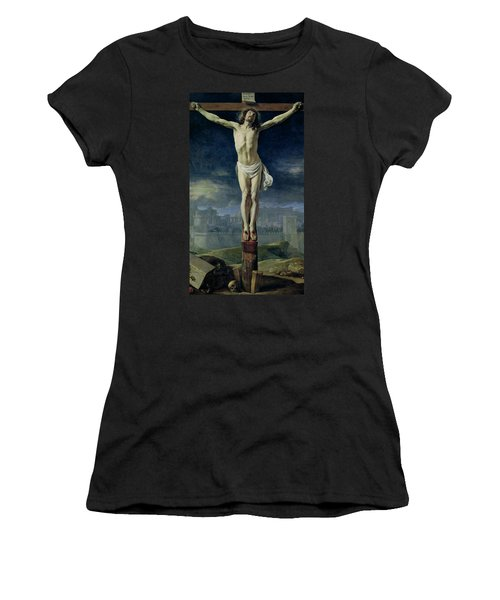Christ On The Cross Women's T-Shirt