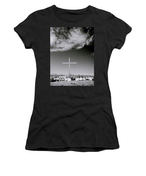 Christian Grave Women's T-Shirt (Junior Cut) by Shaun Higson