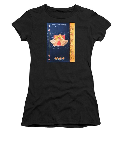 Christmas Bells Women's T-Shirt (Athletic Fit)
