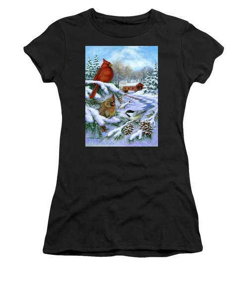 Christmas Creek Women's T-Shirt (Athletic Fit)