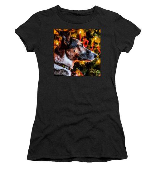 Christmas Dog Women's T-Shirt