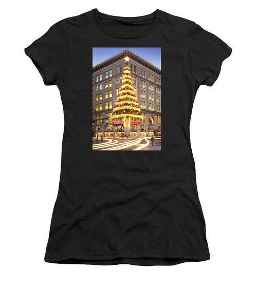 Christmas In Pittsburgh  Women's T-Shirt