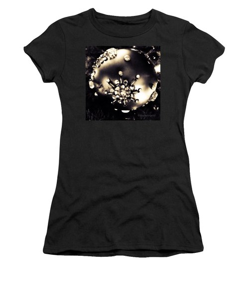 Christmas Ornament In Black And White Women's T-Shirt