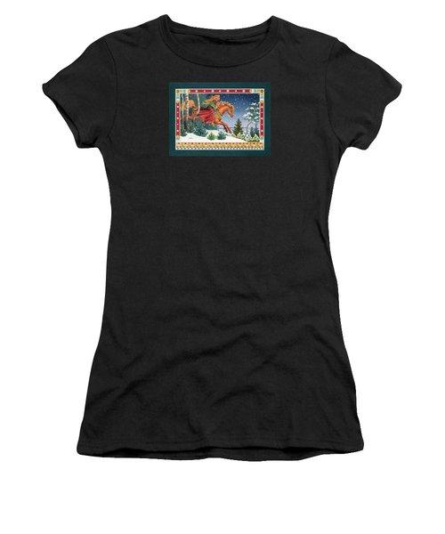 Christmas Ride Women's T-Shirt