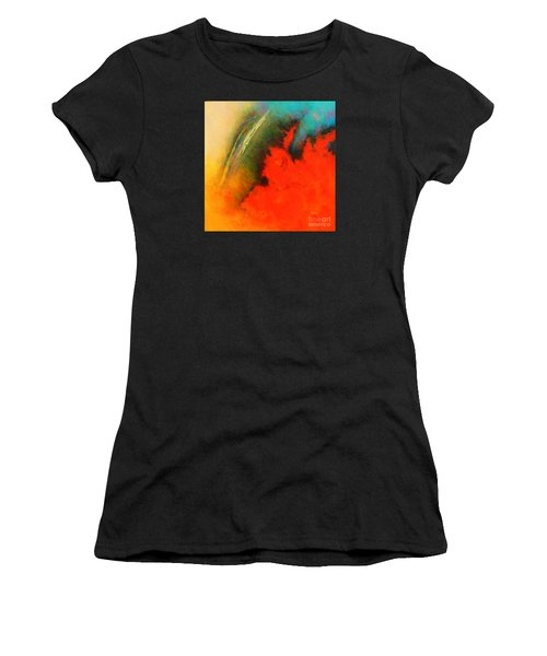Fantasies In Space Series Painting. Chromatic Vibrations Women's T-Shirt (Athletic Fit)