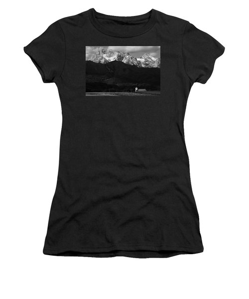 Church Of Saint Peter In Black And White Women's T-Shirt