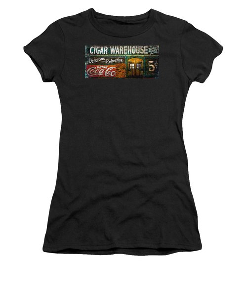 Cigar Warehouse Women's T-Shirt (Athletic Fit)