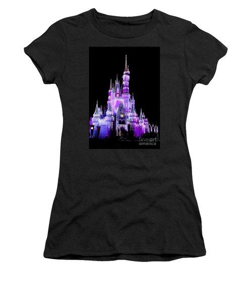 Cinderella's Castle Women's T-Shirt (Athletic Fit)