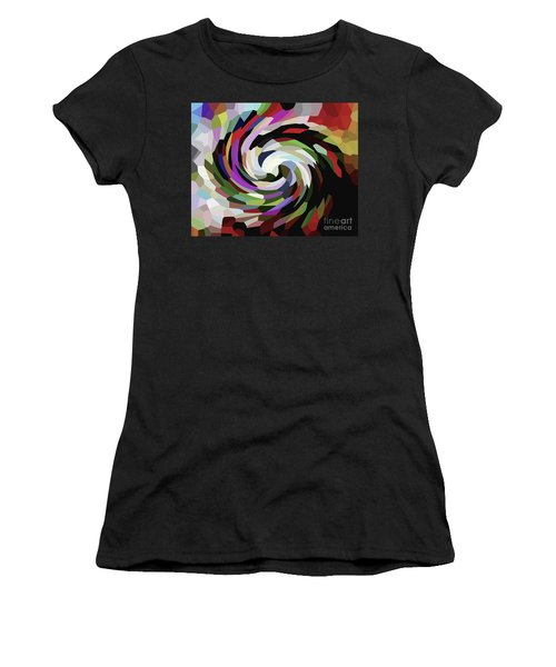 Circled Car Women's T-Shirt (Athletic Fit)