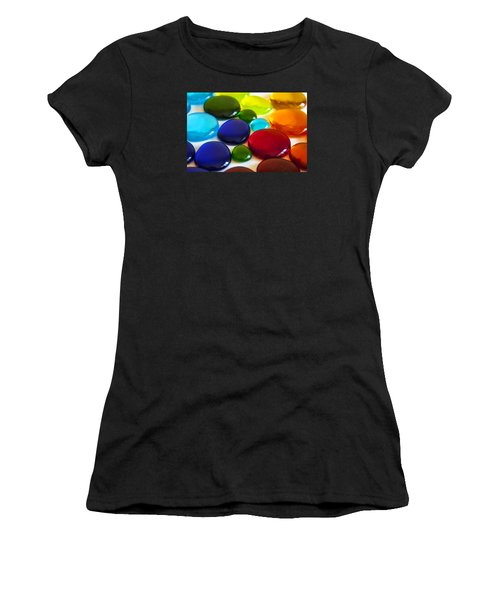 Circles Of Color Women's T-Shirt (Athletic Fit)