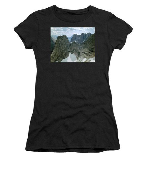 209615-cirque Of Towers, Wind Rivers, Wy Women's T-Shirt
