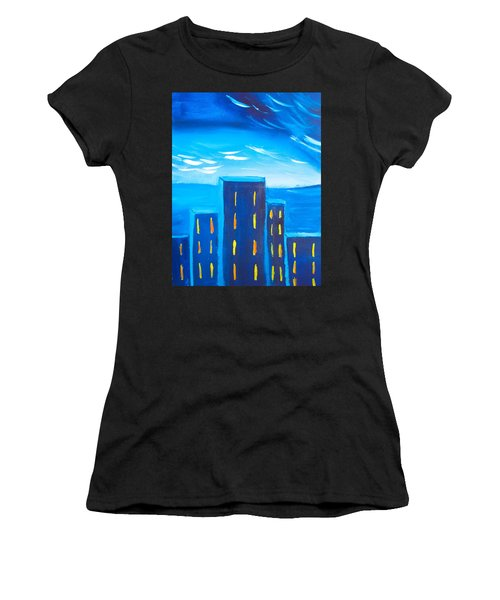 City Women's T-Shirt (Athletic Fit)