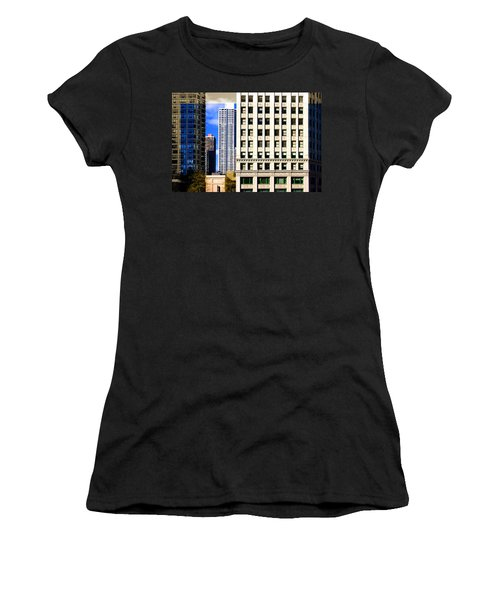 Cityscape Windows Women's T-Shirt
