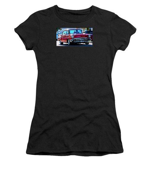 Classic Chevrolet Women's T-Shirt (Junior Cut)