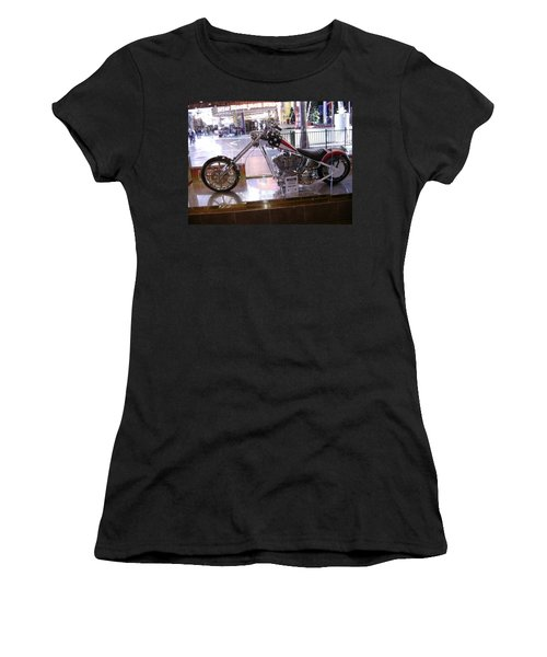 Classic Motorcycle Women's T-Shirt (Athletic Fit)
