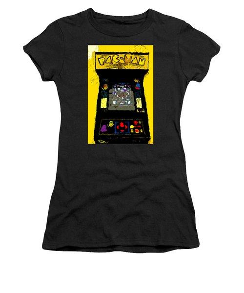 Classic Pacman Women's T-Shirt (Athletic Fit)