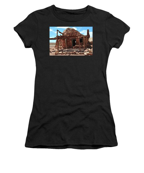 Cliff Dwellers Women's T-Shirt (Junior Cut) by Jim Hogg