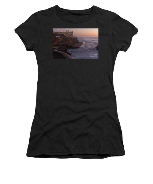 Cliff House Sunset Women's T-Shirt (Athletic Fit)