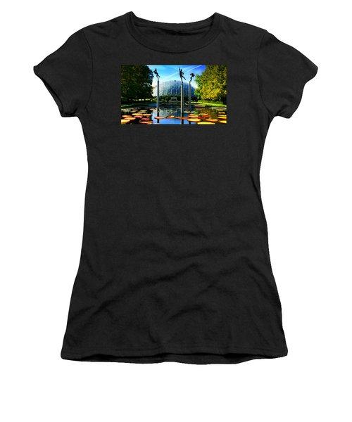 Climatron Geodesic Dome Landscape Women's T-Shirt