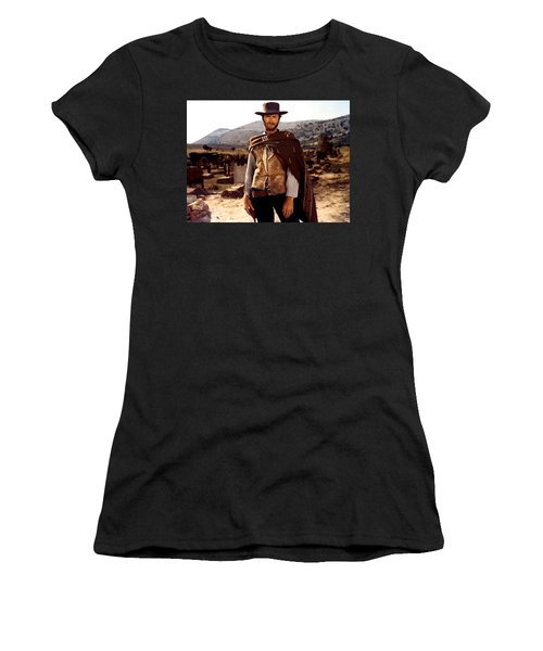 Clint Eastwood Outlaw Women's T-Shirt (Athletic Fit)
