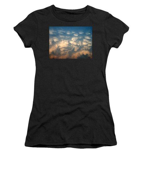 Cloud Texture Women's T-Shirt