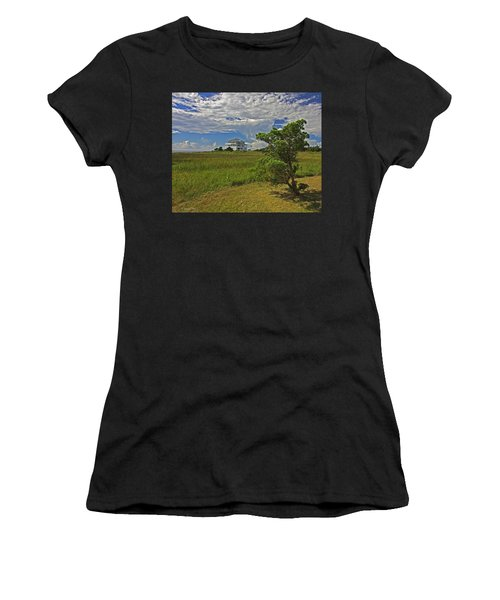 Clouds Over Hatteras Women's T-Shirt (Athletic Fit)