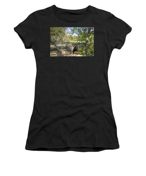 Clover Valley Park Bridge Women's T-Shirt (Athletic Fit)
