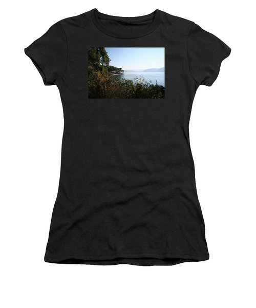 Women's T-Shirt (Junior Cut) featuring the photograph Coast by Tracey Harrington-Simpson