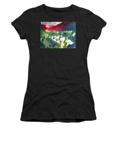 Coastal Callas Women's T-Shirt (Athletic Fit)