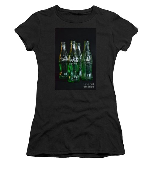 Coke Bottles From The 1950s Women's T-Shirt (Junior Cut) by Paul Ward